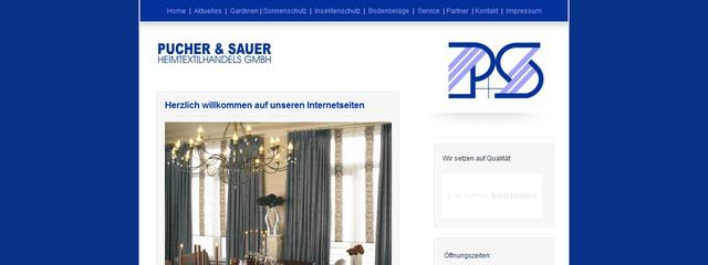 Webseite auf Basis HTML / CSS
