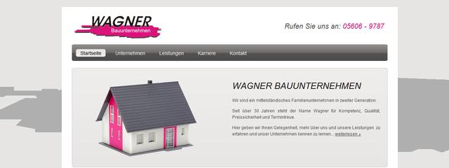 Webseite auf Basis HTML CSS
