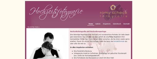 Website auf Basis TYPO3 CMS