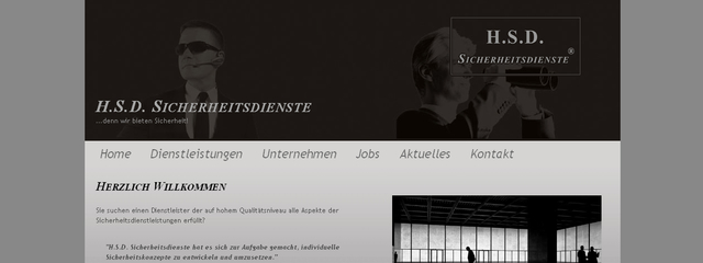 Website auf Basis HTML / CSS