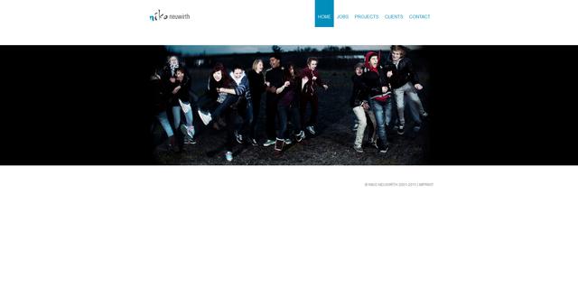 Image Website auf Basis von TYPO3