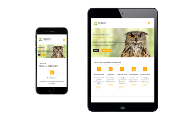 Responsive Design (Optimiert für mobile Geräte)